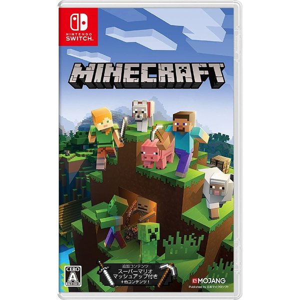 新品  パッケージ版 任天堂MinecraftマインクラフトNintendoSwitchスイッチソフト