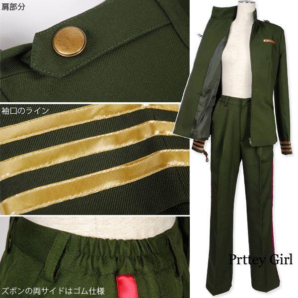 大正風軍服 陸軍少尉 コスプレ 大きいサイズ prettygirl 05