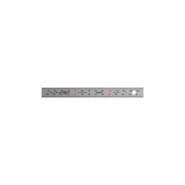 ステンレス・アルミ定規 ユニオン直尺 15cm 1-831-0015