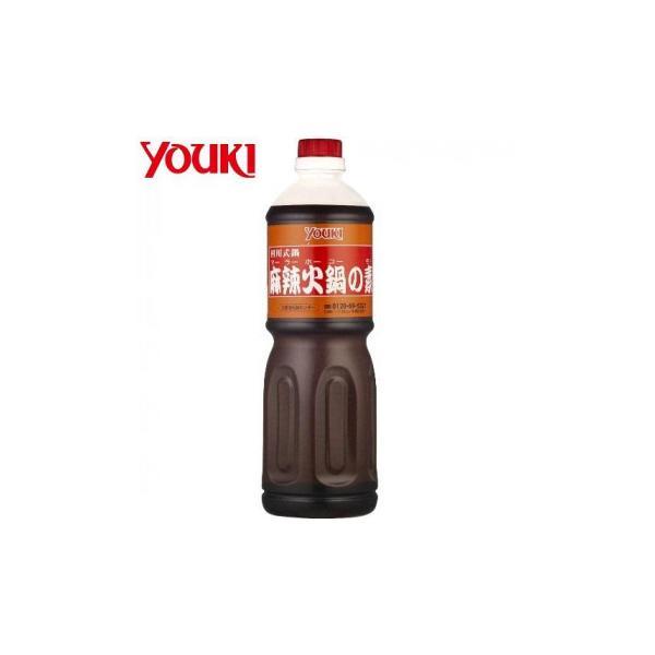 YOUKI ユウキ食品 麻辣火鍋の素 1.1kg×6本入り 212460