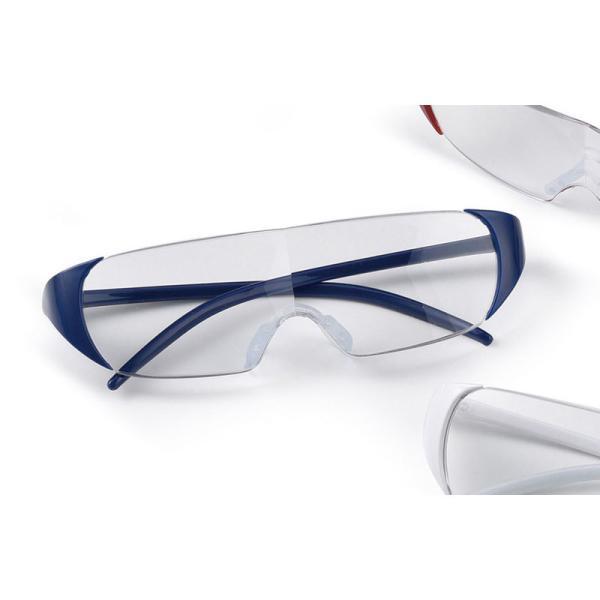 メガネ型ルーペ ネイビー (ST103) 単品