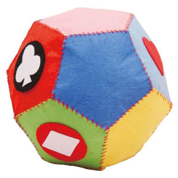 フェルトボール作り サッカー ※未完成品(商品画像は作品例となります。)