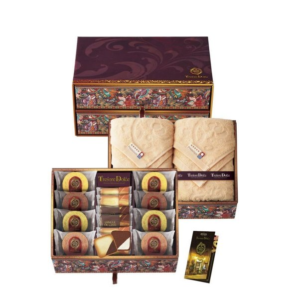 TresoreDolce 宝石箱 フルーツカラーバウム&今治産タオル(TREG-HJ)