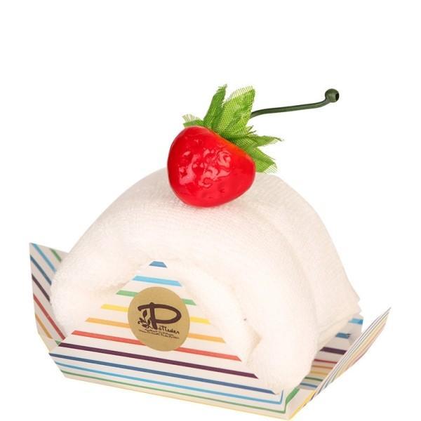 バニラ 今治 ケーキタオル ロールケーキ ハンカチ雑貨 お返し プチギフト [日本製]