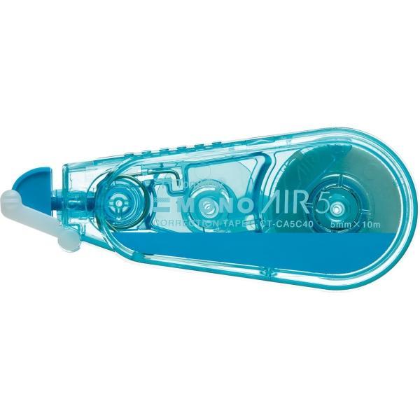 [トンボ鉛筆] モノエアー修正テープ タテ引き 幅5mm×長さ10m ブルー