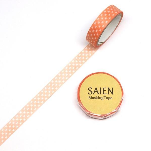 マスキングテープ オレンジリボン 幅10mm