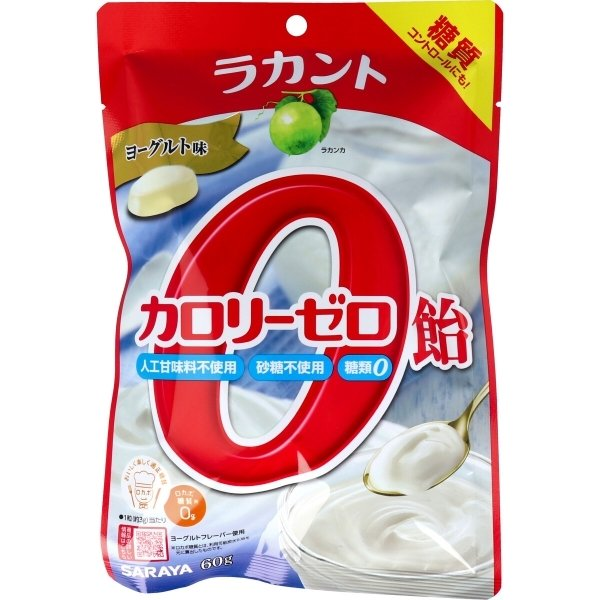 ラカント カロリーゼロ飴 ヨーグルト味 60g