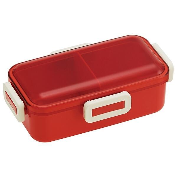レトロフレンチカラー(オレンジレッド) 抗菌食洗機対応ふわっと弁当箱