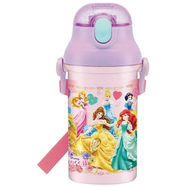 プリンセス 食洗機対応プラ製プッシュ式ストローボトル