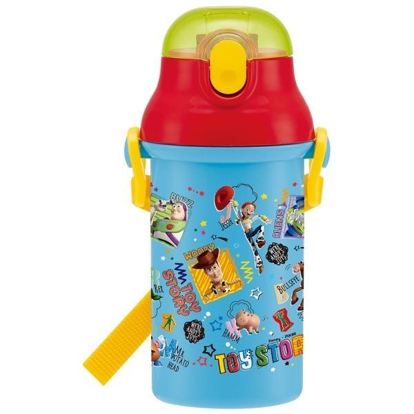 トイ・ストーリー 食洗機対応プラ製プッシュ式ストローボトル