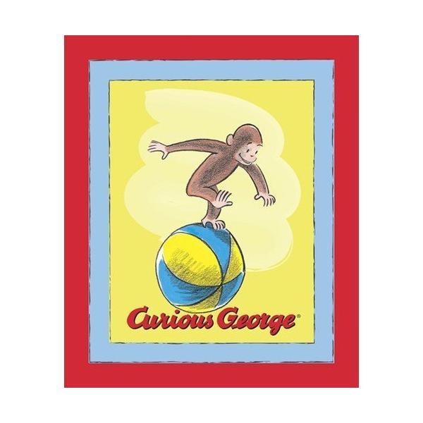 『ヤード売り』おさるのジョージ(キュリアスジョージ) たちボール 10697k『布 手芸 手作り ファブリック キャラクター』