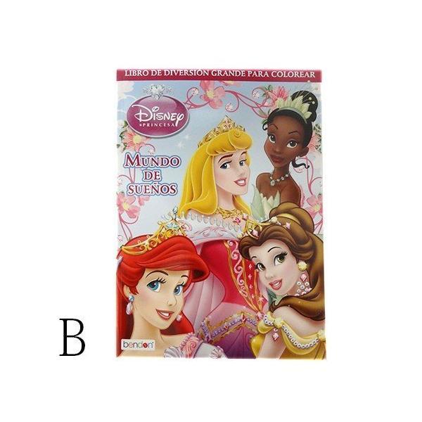 ディズニープリンセス カラーリングブック 11800b Disney