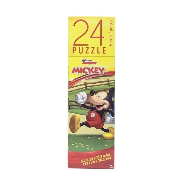 ミッキー (A) 24ピース パズル 14411a ジグソーパズル ディズニー ミッキーマウス ドナルド グーフィー クラブハウス おもちゃ 知育玩具 男の子
