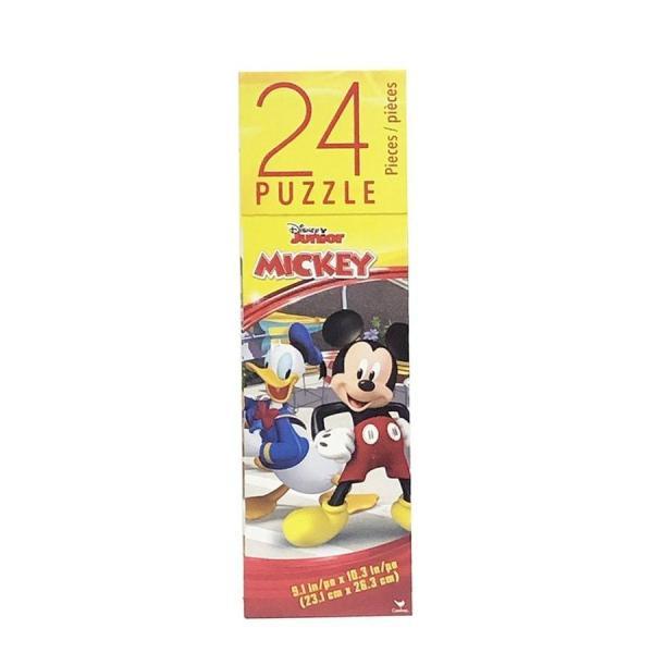 ミッキー (B) 24ピース パズル 14411b ジグソーパズル ディズニー ミッキーマウス ドナルド プルート クラブハウス おもちゃ 知育玩具 男の子