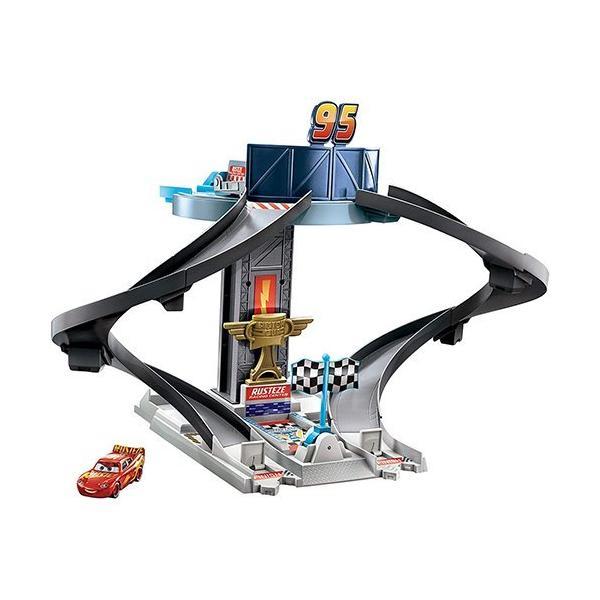 カーズ おもちゃ レーシング タワー 15185 CARS ライトニング マックイーン 車 くるま 走る ディズニー かっこいい ピクサー キャラクター グッズ 輸入品
