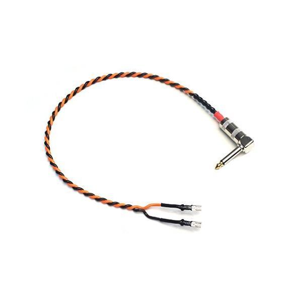 スピーカーケーブルBELDEN ベルデン9497 1.5ft(46cm)L型プラグ-ファストン端子付