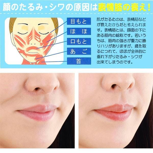 フェイストレッチ しわ たるみ ほうれい線 グッズ 二重あご 顔のたるみ しわ取り 表情筋 トレーニング日本製 送料別 pricewars 02