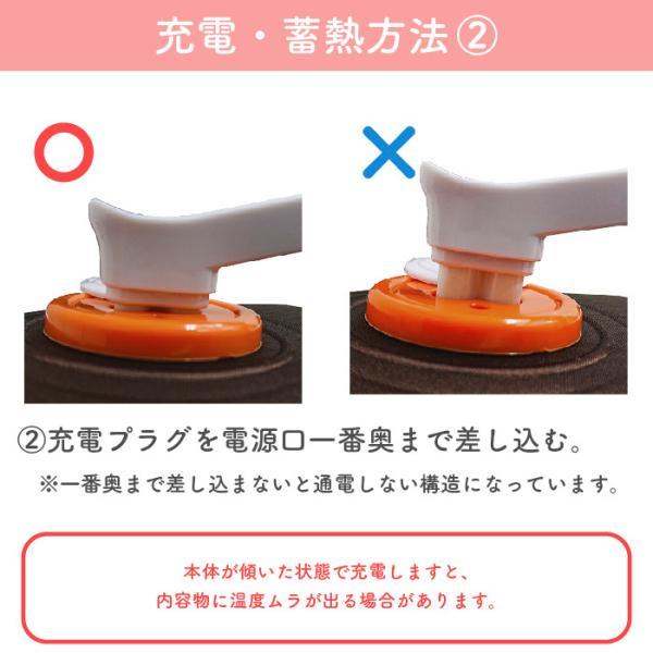湯たんぽ 充電式 湯たんぽ ECO-TANPO フリースカバータイプ 充電 カバー 袋 電気 コードレス 敬老の日|pricewars|07