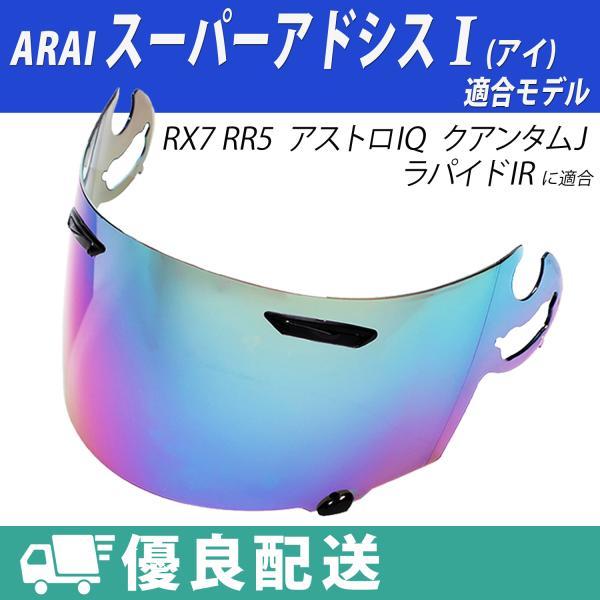 ARAIシールドヘルメットRX-7RR5アストロIQクアンタムJラパイドIRアライ純正対応ミラーI(アイ)対応