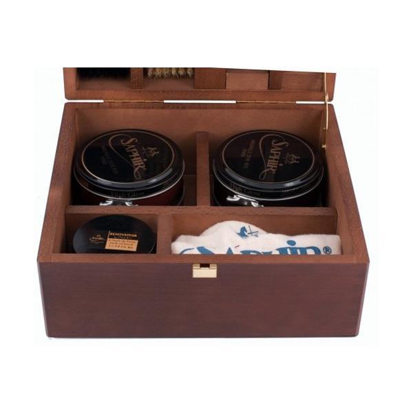 サフィールノワール スープリーム 靴磨きセット Saphir Noir