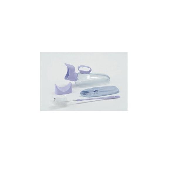 アロン化成 ユリフィット 533736 尿器 女性用 安寿 介護用品 排尿器 採尿器 トイレ 尿瓶 しびん