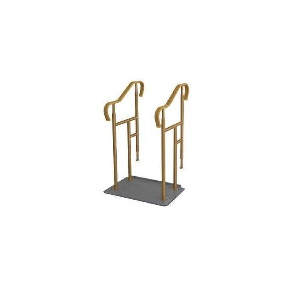 玄関用ベストサポート手すり 3-2 シコク 段差解消 簡単設置 介護用品