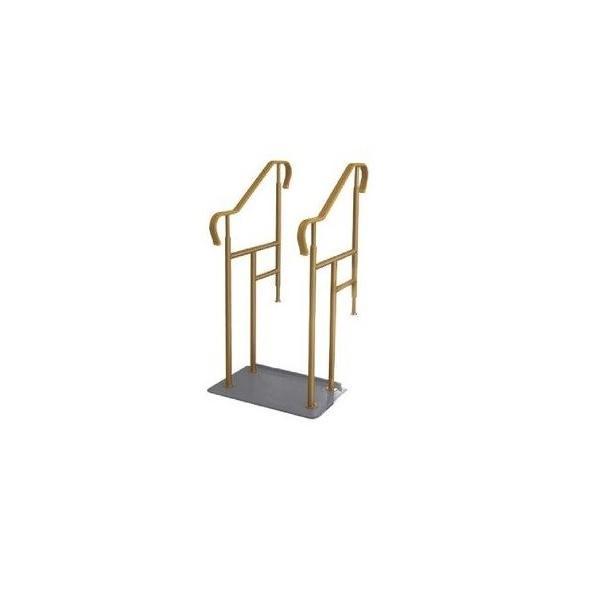 玄関用ベストサポート手すり 4-2 シコク 段差解消 簡単設置 介護用品