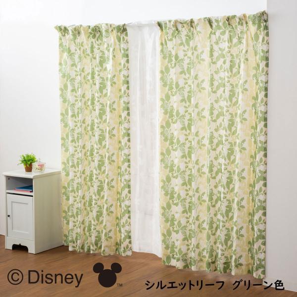 カーテン レースカーテン 4枚組 セット ディズニー Disney ミッキー ミニー プーさん 幅100×丈135cm 丈178cm 丈200cm|princesscurtain|09