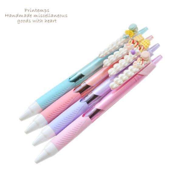 クリーム スイーツデコ ボールペン 2本セット かわいい ペン ギフトラッピング無料|printemps410