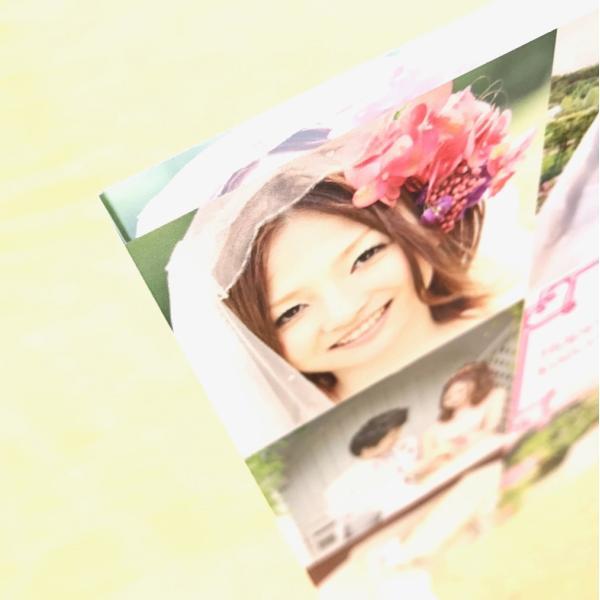 結婚メモリアル用アクリルフォトプレート (スタンド付) 20x20x1cm printplus 06