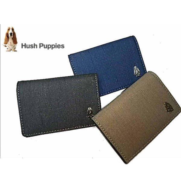 ハッシュパピーマニエラHushPuppies名刺入れ本革カード入れカードケース人気犬父の日ギフト誕生日プレゼント