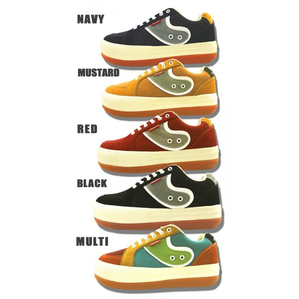 ノースウェイブ エスプレッソ風 サーフ系厚底スニーカー  カジュアル アメカジ 靴 レディース