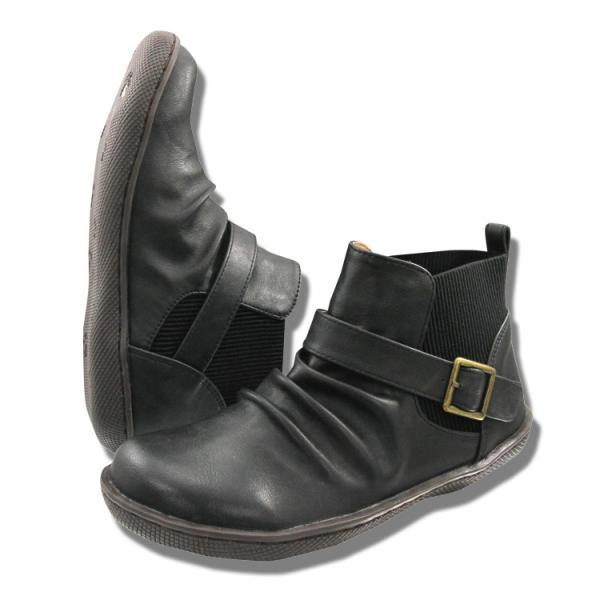 サイドゴアブーツ ショートブーツ 靴 レディース 履きやすい スニーカー感覚