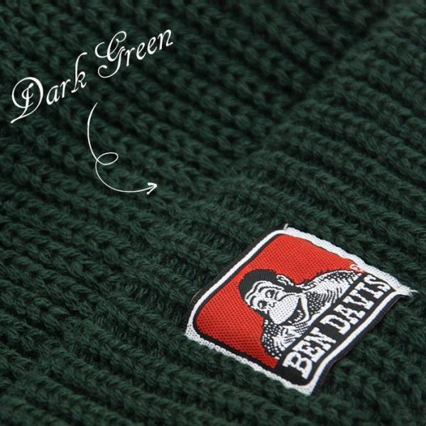 BEN DAVIS ベンデイビス 帽子 ニットキャップ|pro-shop|06
