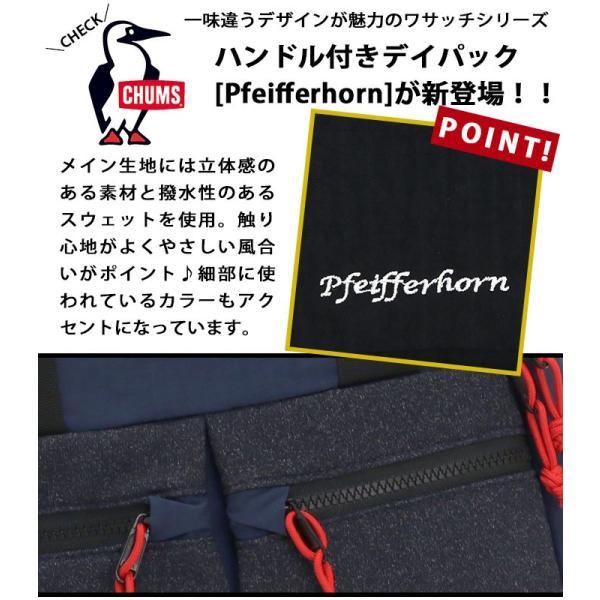 リュックサック CHUMS チャムス リュック スクエア Pfeifferhorn 18L メンズ レディース ブランド デイパック バックパック 通学 サイドポケット 正規品|pro-shop|14