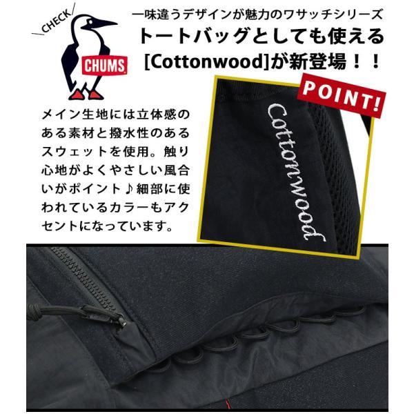トートバッグ CHUMS チャムス リュック 2WAY デイパック リュックサック バックパック 正規品 18L メンズ レディース ブランド ワサッチ サイドポケット|pro-shop|13