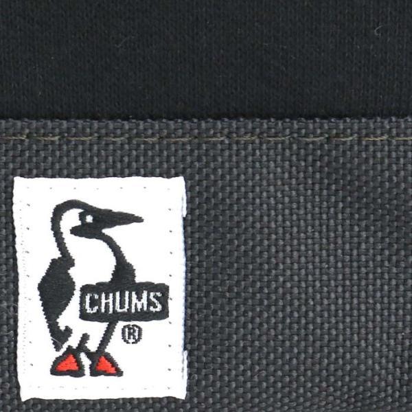 財布 コインケース CHUMS チャムス 小銭入れ メンズ レディース 男女兼用 ブランド スリム L字ファスナー Square Coin Case Sweat Nylon|pro-shop|04