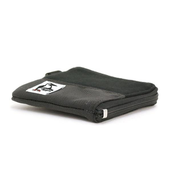 財布 コインケース CHUMS チャムス 小銭入れ メンズ レディース 男女兼用 ブランド スリム L字ファスナー Square Coin Case Sweat Nylon|pro-shop|10