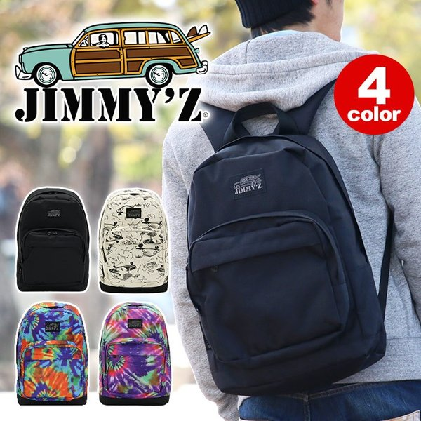 JIMMY'Z ジミーズ リュックサック リュック バックパック デイパック サーフブランド サーファー スケーター 通学 高校生 JZA-500 jimmyz-005|pro-shop