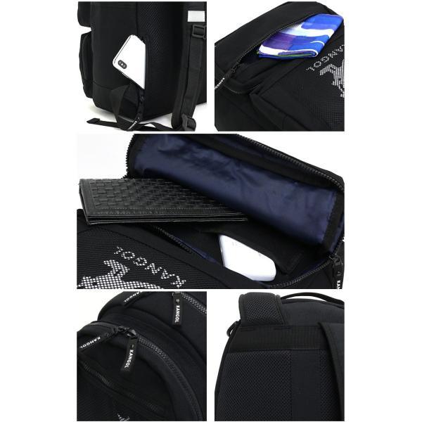 リュック カンゴール KANGOL リュックサック デイパック バックパック バッグ メンズ レディース 男女兼用 ブランド サイドファスナー サイドポケット セール|pro-shop|12