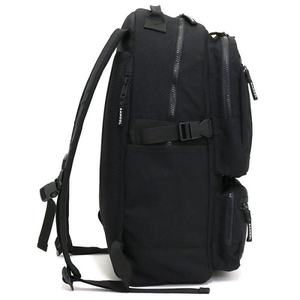 リュック カンゴール KANGOL リュックサック デイパック バックパック バッグ メンズ レディース 男女兼用 ブランド サイドファスナー サイドポケット セール|pro-shop|10