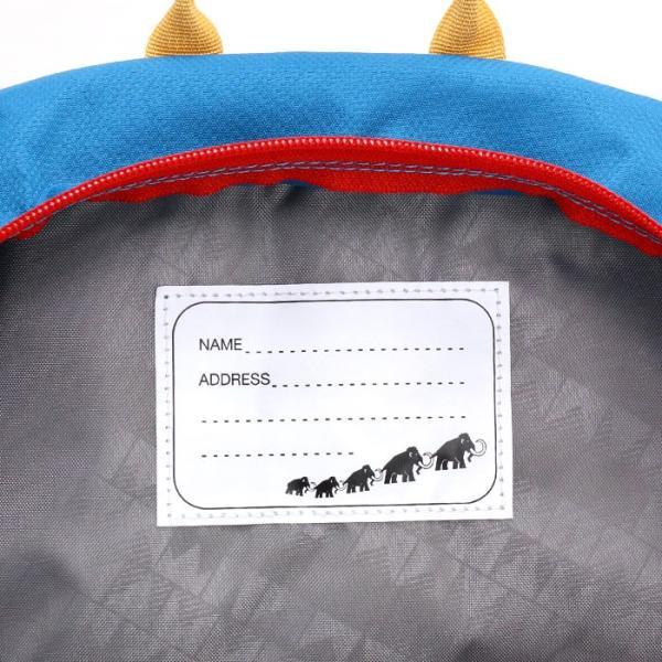 リュックサック キッズ MAMMUT マムート ファーストジップ 4L リュック 子供 ハーネス キッズバッグ キッズリュックサック デイパック バックパック お泊り保育|pro-shop|14