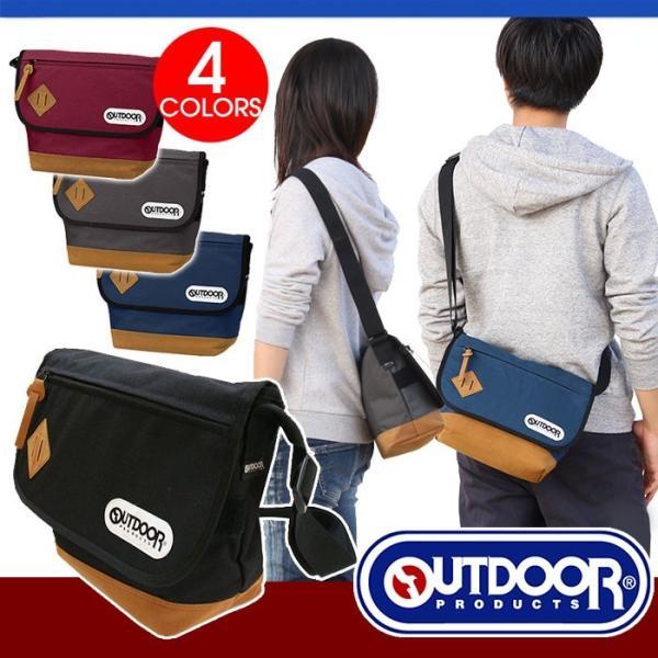OUTDOOR PRODUCTS アウトドア ショルダーバッグ メッセンジャーバッグ男女兼用 62025|pro-shop