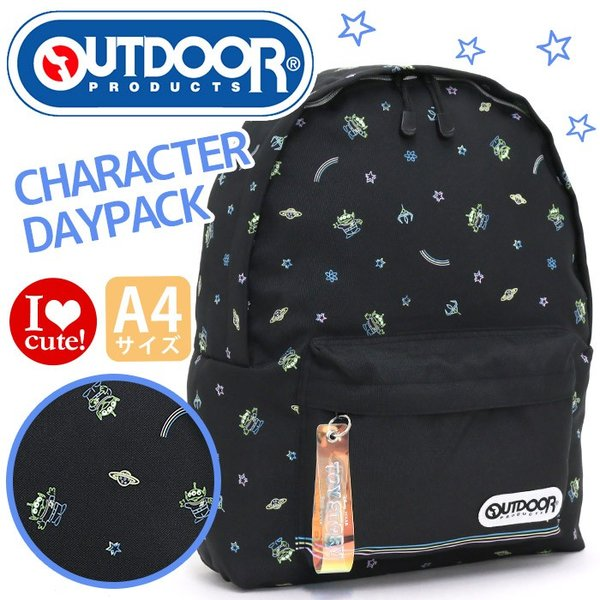 7aba48a6fea7d7 リュック OUTDOOR PRODUCTS アウトドアプロダクツ トイストーリー TOY STORY デイパック 大人 リュックサック バックパック  メンズ