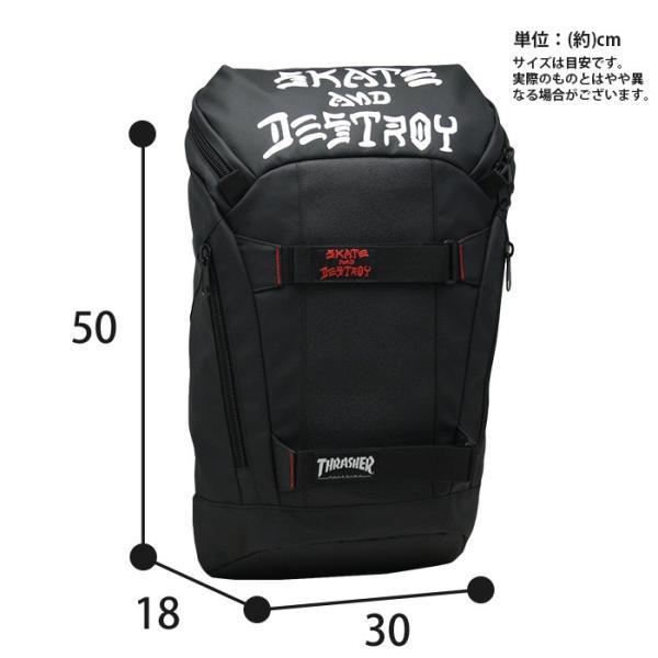 スラッシャー リュック 黒 メンズ THRASHER 送料無料 リュックサック|pro-shop|06