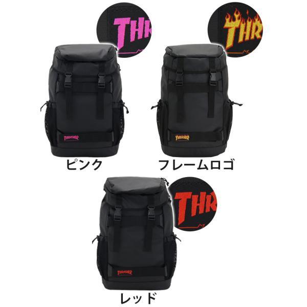 THRASHER スラッシャー リュックサック リュック フラップリュック 黒リュック デイパック バックパック 大容量 メンズ 通勤 通学 THRPD-8900 thrasher-032|pro-shop|02