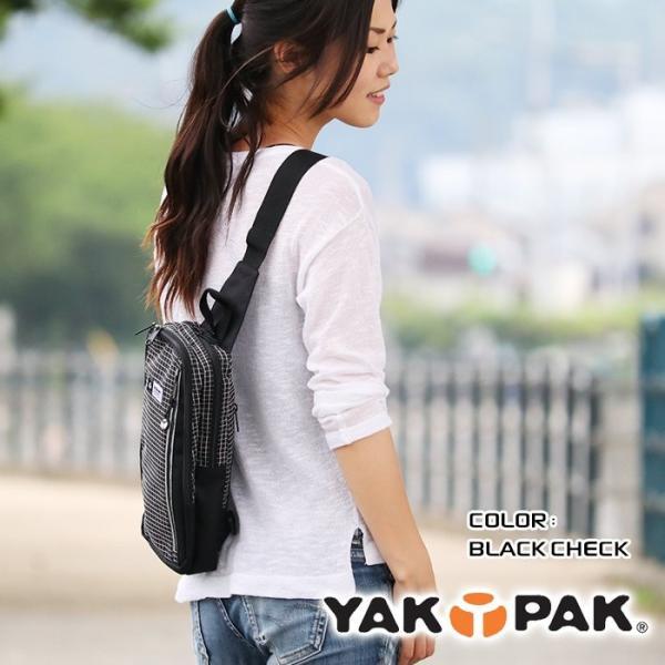 ボディバッグ YAKPAK ヤックパック ボディーバッグ ワンショルダー 送料無料 メンズ レディース 男女兼用 半額 セール