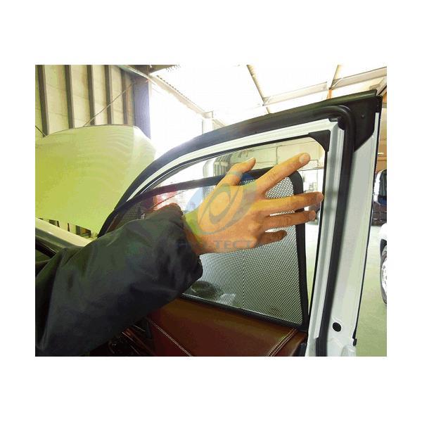 コンパクト梱包 送料無料 TOYOTA  60/65系HARRIER トヨタ ハリアーのサンシェード 日よけ レーザーシェード ハリアー 運転席・助手席 2枚組セット PRO-TECTA|pro-tecta-shop|02