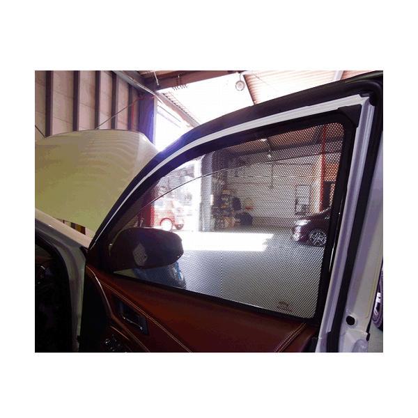 コンパクト梱包 送料無料 TOYOTA  60/65系HARRIER トヨタ ハリアーのサンシェード 日よけ レーザーシェード ハリアー 運転席・助手席 2枚組セット PRO-TECTA|pro-tecta-shop|03