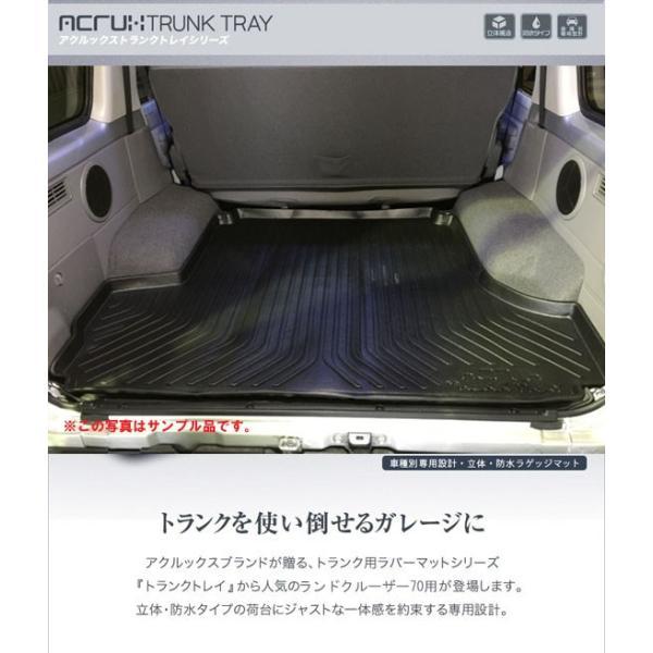 ランクル70専用トランクトレイ/ランドクルーザー70(ラゲッジマット)立体 防水 縁高【釣り/アウトドア/レジャー】 PRO-TECTA|pro-tecta-shop|02
